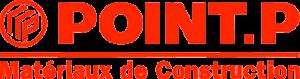 Logo Point.P, Matériaux de Construction