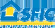 Logo SFIC, aménagement et isolation